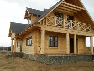 domy drewniane z bali Warszawa