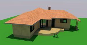 gotowe projekty domów z bali
